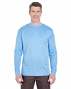 Adult Cool & Dry Sport Long-Sleeve Tee: (8401)