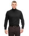 Adult Egyptian Interlock Long-Sleeve Turtleneck: (8516)