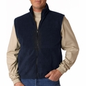 Iceberg Fleece Full-Zip Vest: (8486)