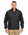 Adult Micro-Poly 1/4-Zip Windshirt: (8936)