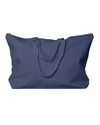 UltraClub Tote Bag: 100% Cotton Canvas Zippered with Gusset (8863)
