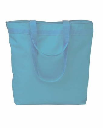 UltraClub Tote Bag: Zippered (8802)