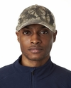 Classic Cut Washed Brushed Cotton Twill Unconstructed Trucker Cap: (8114)