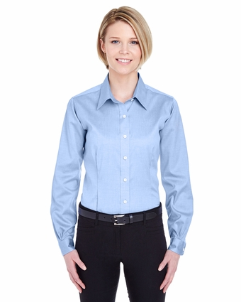 Ladies' Non-Iron Pinpoint: (8381)
