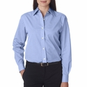 Ladies' Wrinkle-Resistant End-on-End: (8341)
