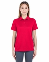 Ladies' Cool & Dry Elite Mini-Check Jacquard Polo: (8305L)