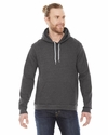 Unisex Flex Fleece Drop Shoulder Pullover Hoodie: (F498)