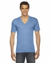 Unisex Triblend Short-Sleeve V-Neck T-shirt: (TR461)