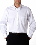 Men's True Wrinkle-Free Cotton Pinpoint Oxford: (13V0143)