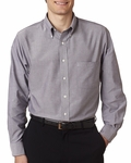 Men's Long-Sleeve Wrinkle-Resistant Oxford: (VH56800)