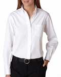 Ladies' Wrinkle-Resistant Blended Pinpoint Oxford: (13V0110)