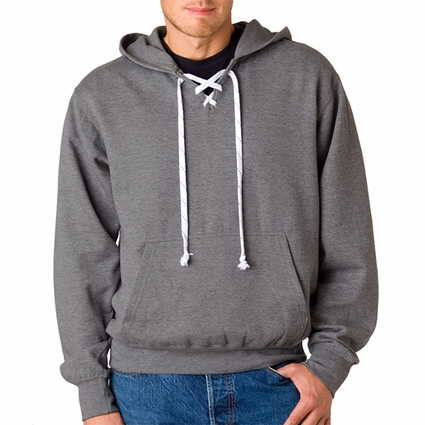 Adult Hockey Hooded Sweatshirt: (7476)