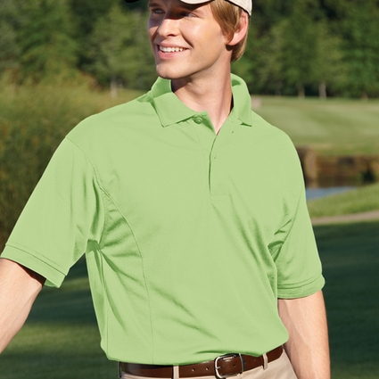 Willow Pointe Men's Oxford Shirt: Short-Sleeve Performance Cool Mesh Golf (2800)