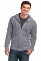 Young Mens Lightweight Jersey Full-Zip Hoodie