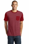 Young Mens VIT with Contrast Sleeves and Pocket