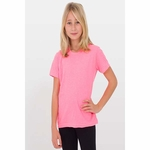 Youth 50/50 Poly-Cotton Short Sleeve Tee: (BB201)