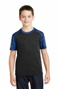 Youth CamoHex Colorblock Tee