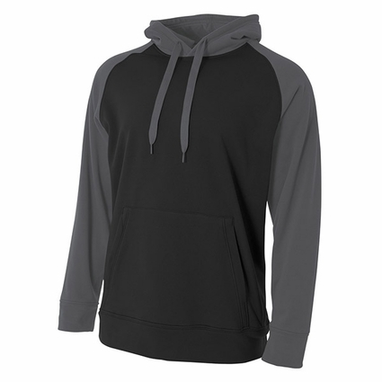 Youth Color Block Tech Fleece Hoodie