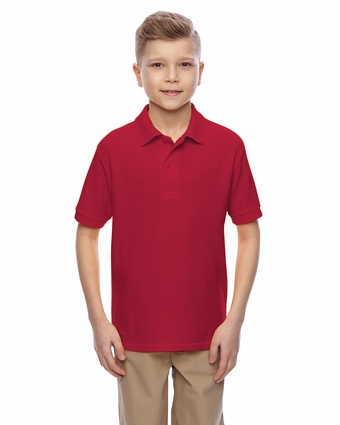 Youth Easy Care Polo: (537YR)