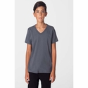 Youth Fine Jersey V-Neck T-Shirt: (2256)