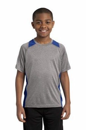 Youth Heather Colorblock Contender Tee