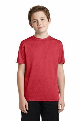 Youth Heather Contender Scoop Neck Tee