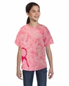 Youth Pink Ribbon T-Shirt: (CD1150Y)