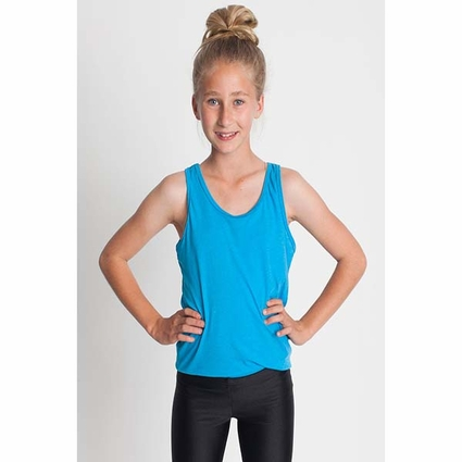 Youth Poly-Cotton Tank: (BB208)