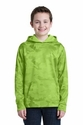 Youth Sport-Wick Camohex Fleece Hooded Pullover