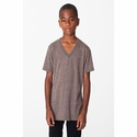 Youth Tri-Blend V-Neck Tee: (TR256)