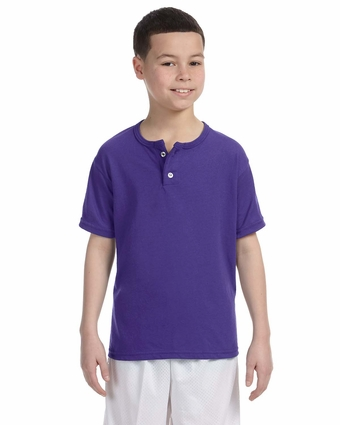 Youth Two-Button Baseball Jersey