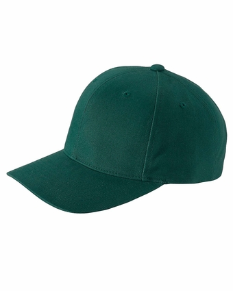 Brushed Cotton Twill Mid-Profile Cap: (6363V)