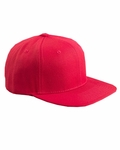 6-Panel Structured Flat Visor Classic Snapback: (6089)