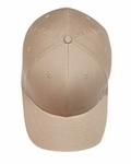 6-Panel Structured Mid-Profile Cotton Twill Cap: (5001)