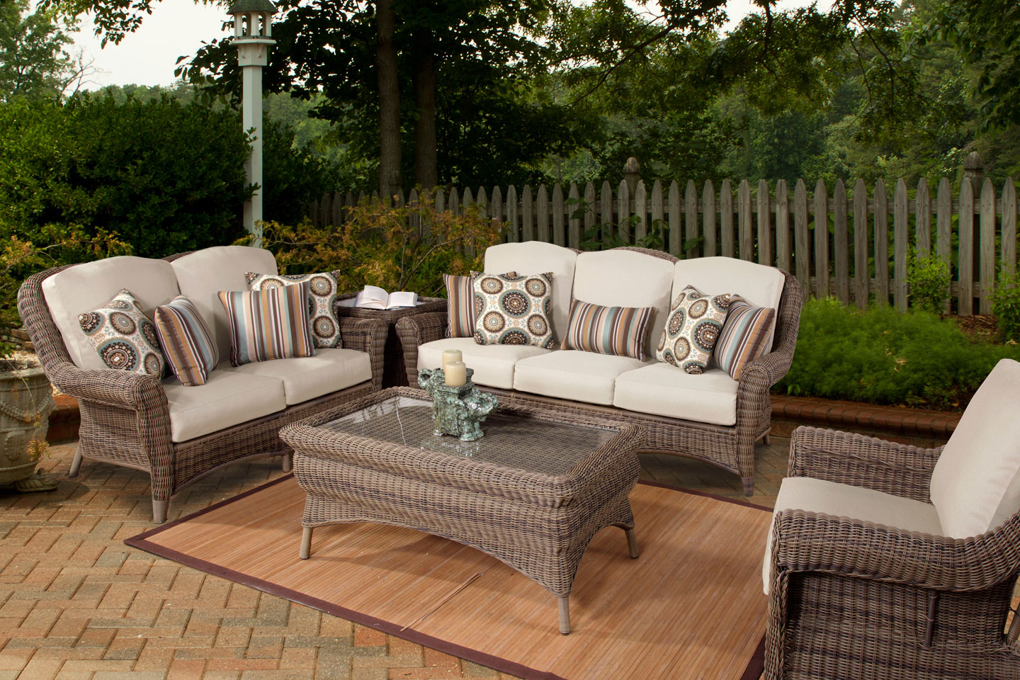 Amalfi Outdoor Patio Resin Wicker Furniture Collection. Clubfurniture