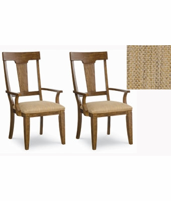 ashland upholstered dining arm chairs set of 2