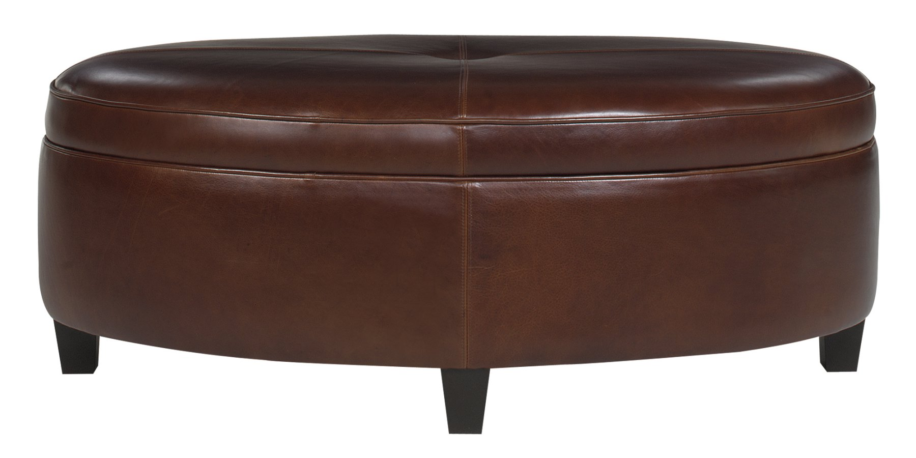 Oval Ottoman Coffee Table With Storage Club Furniture