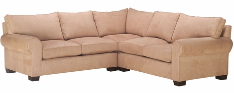 Bailey Deep Seating Rolled Arm Modular Sofa