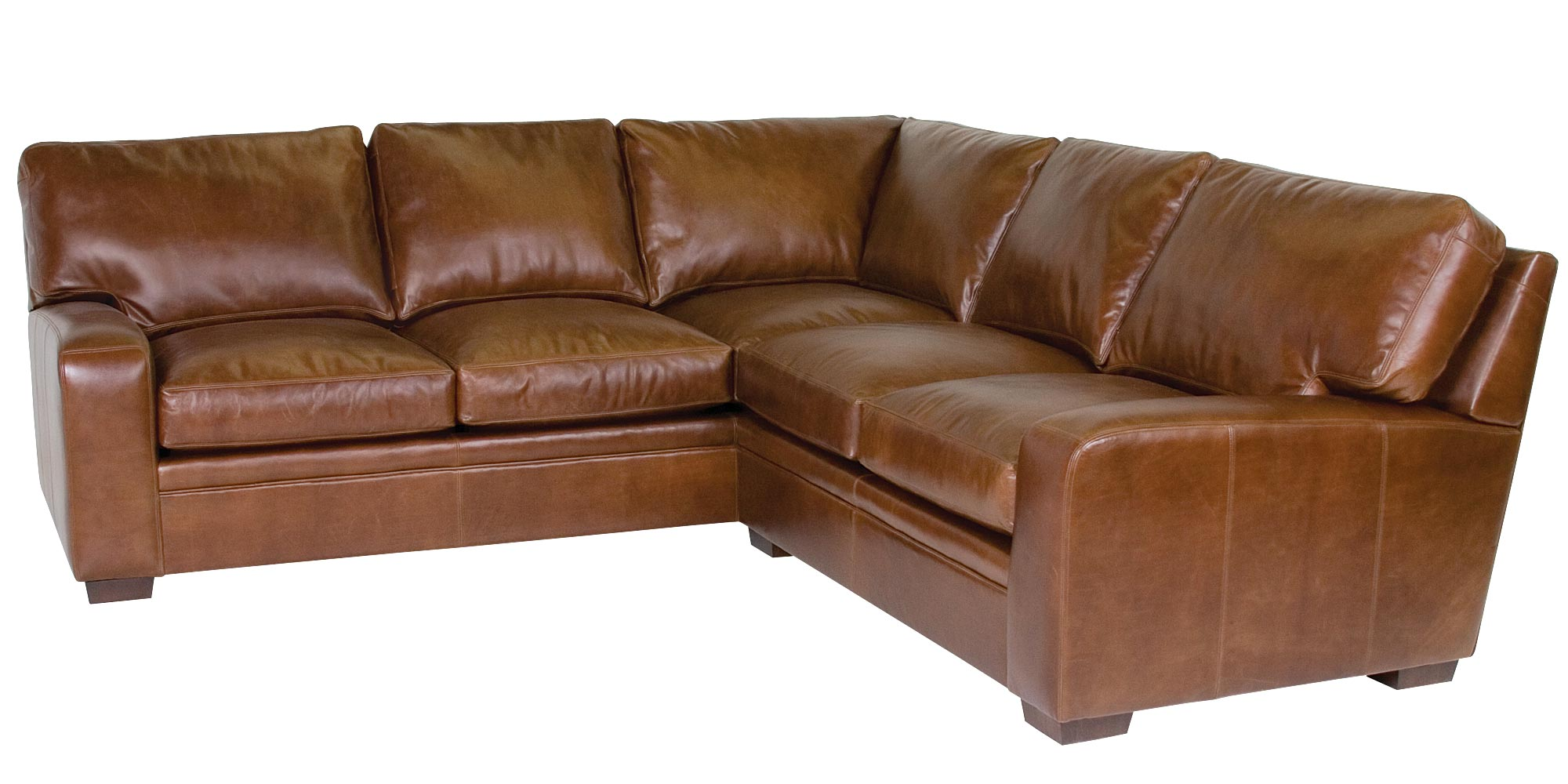Modern Leather Locking Sectional Sofa Club Furniture