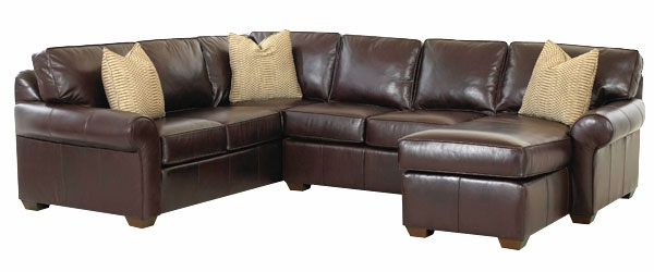 Bradley 3-Piece Leather Sectional With Chaise (As Configured)  sc 1 st  Club Furniture : chaise leather sectional - Sectionals, Sofas & Couches