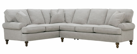 "Brin ""Quick Ship"" Sectional w/ 3 Configurations"