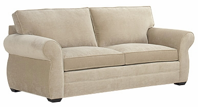 Fabric Sofa With Socked Roll Arms Just Like Pearce Club