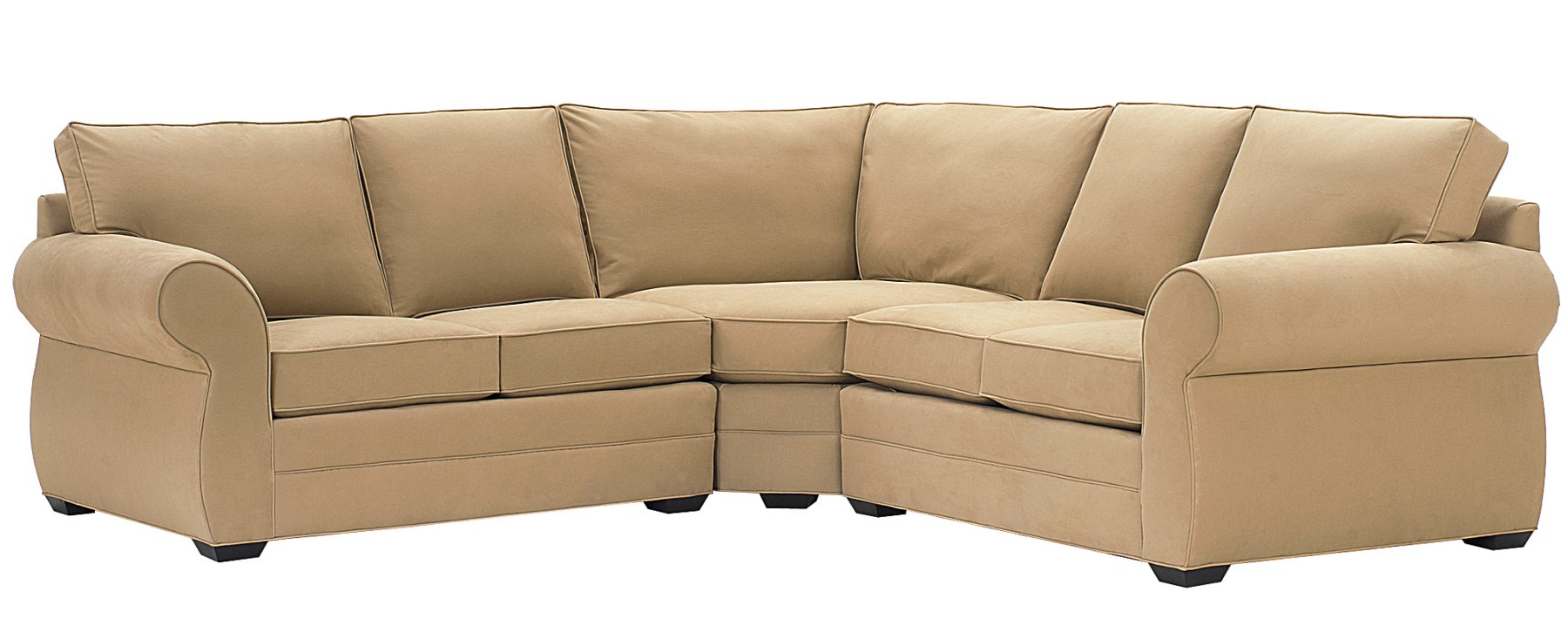 Upholstered modular sectional sofa w wedge club furniture for Build your own modular sectional sofa