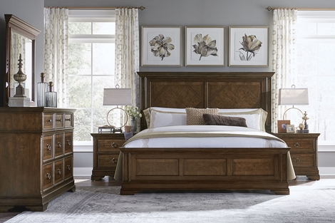 Portman Wood Bedroom Collection