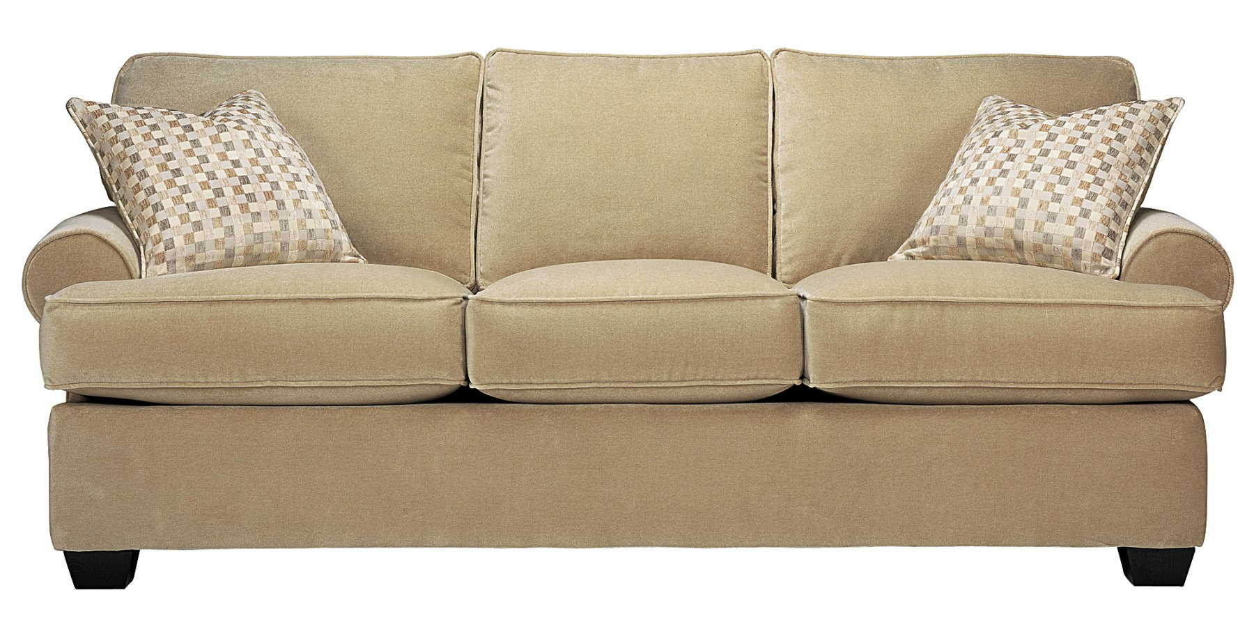 Upholstered Pillow Back Rolled Arm Sofa Collection Club Furniture
