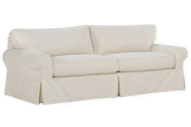 Oversized Washable Slipcovered Sofa With Deep Seats Club Furniture