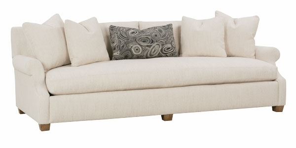 Large Bench Seat Fabric Sofa Club Furniture