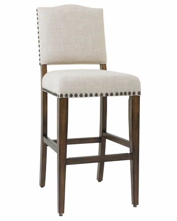 Rustic Fabric Bar And Counter Stools Club Furniture