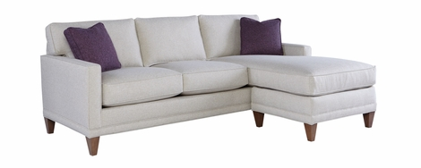 Janice Fabric Reversible Chaise Sectional