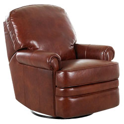 Curtis 360 Degree Swivel / Glider Leather Recliner